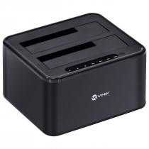 """DUPLICADOR DE HD DOCK STATION 2.5"""" E 3.5"""" CONEXÃO USB 3.0 PARA SATA - DP35-A30B - 1"""