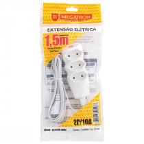 EXTENSÃO CABO PL 2X0,75 1,5 METROS BRANCA 93 - 1
