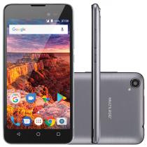 CELULAR SMARTPHONE MS50L 3G TELA 5'' 8GB ANDROID 7.0 GRAFITE/PRETO NB706