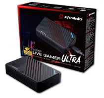 PLACA DE CAPTURA 4K LIVE GAMER ULTRA AVERMEDIA GC553