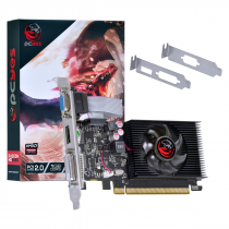 PLACA DE VIDEO AMD RADEON HD 5450 1GB DDR3 64 BITS COM KIT LOW PROFILE INCLUSO - PJ54506401D3LP - 1