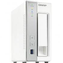 SERVIDOR DE DADOS NAS ARM CORTEX-A15 QUAD-CORE 1.7GHZ 1GB DDR3 - 1 BAIA SEM DISCO - TS-131P QNAP