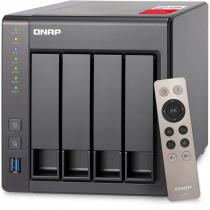 SERVIDOR DE DADOS NAS INTEL QUAD-CORE 2.0GHZ - 2GB - 4 BAIAS SEM DISCO - TS-451+-2G - 1