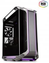 GABINETE COSMOS C700M - VIDRO TEMPERADO - ILUMINAÇÃO RGB - MCC-C700M-MG5N-S00