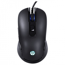MOUSE HP GAMER - M200 BLACK - 1000 / 2400 DPI - 1