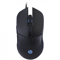 MOUSE HP GAMER - G260 BLACK - 1000 / 2400 DPI - 1