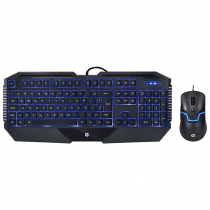 KIT TECLADO E MOUSE HP GAMER - GK1100 BLACK