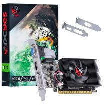 PLACA DE VIDEO NVIDIA GEFORCE G 210 1GB DDR3 64 BITS COM KIT LOW PROFILE SINGLE FAN - PA210G6401D3LP - PCYES - 1