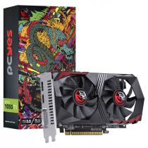 PLACA DE VIDEO NVIDIA GEFORCE GTX 1050 TI 4GB GDDR5 128 BITS DUAL-FAN - GRAFFITI SERIES - PA1050TI12804G5DF - 1