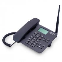 TELEFONE CELULAR RURAL FIXO DE MESA QUADRIBAND 850/900/1800/1900 MHZ  DUAL CHIP CA-42S - 1