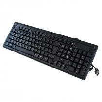 TECLADO USB HP 100 2UN30AA COMPRIMENTO DO CABO 1,5M PRETO - 1