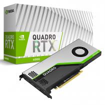 PLACA DE VIDEO NVIDIA QUADRO RTX 4000 8GB GDDR6 256 BITS 3 DISPLAY PORT - 1 USB-C -  UVCQRTX4000-PORPB - 1