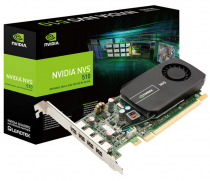 PLACA DE VIDEO NVIDIA QUADRO NVS 510 2GB DDR3 128 BITS 4 MINI DISPLAY PORT VCNVS510DVI-PB - SUPORTA ATÉ 4 MONITORES/TV - 1