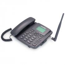 TELEFONE CELULAR RURAL FIXO DE MESA 3G PENTABAND  850, 900 ,1800, 1900 E 2100MHZ DUAL CHIP CA-42S3G - 1