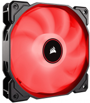 FAN PARA GABINETE - AF120 LED VERMELHO - 120MM - CO-9050080-WW - 1