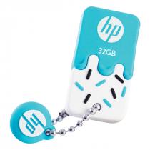 PEN DRIVE MINI HP USB 2.0 V178B 32GB AZUL HPFD178B-32 - 1