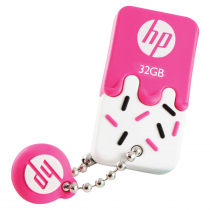 PEN DRIVE MINI HP USB 2.0 V178P 32GB PINK HPFD178P-32 - 1