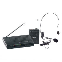 MICROFONE SEM FIO HEADSET VHF895 - 1