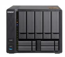 SERVIDOR DE DADOS NAS AMD QUAD-CORE 2.0GHZ - 8GB - 9 BAIAS SEM DISCO (5+4) - TS-963X-8G - 1
