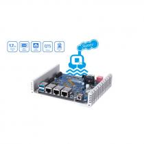 SERVIDOR IOT QBOATSUNNY ALPINE AL-314 QUAD-CORE 1,7GHZ 2GB DDR3 - USB, LAN, M.2 - QBOATSUNNY-US QNAP