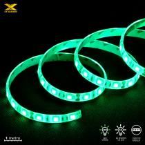 FITA DE LED VX GAMING VERDE COM CONEXÃO MOLEX 60 PONTOS DE LED 1 METRO - LDM1