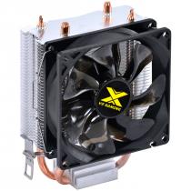 COOLER PARA PROCESSADOR VX GAMING QUASAR COMPATIVEL COM INTEL/AMD COM PWM TDP 85W PRETO - CP200