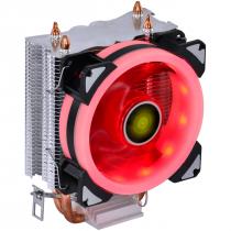 COOLER PARA PROCESSADOR VX GAMING BLITZAR COMPATIVEL COM INTEL/AMD COM PWM TDP 95W LED VERMELHO - CP300
