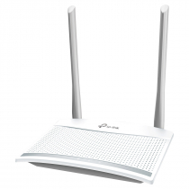 ROTEADOR WIRELESS N 300MBPS COM IPV6  ANTENA 5DBI 2 PORTAS LAN FAST TL-WR820N