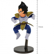 FIGURE DRAGON BALL Z - VEGETA - WORLD COLOSSEUM2 REF: 34867/34868 - 1
