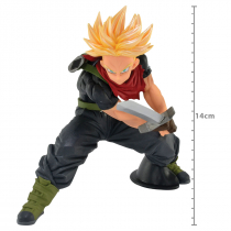FIGURE DRAGON BALL HEROES - TRUNKS SUPER SAYAJIN - TRANSCENDENCE ART REF: 30483 - 1