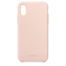 CAPA PARA CELULAR IPHONE X E XS EM SILICONE LÍQUIDO - ROSA BABY PINK MT-XSR - 1