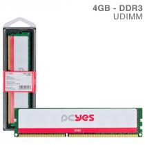 MEMORIA PCYES UDIMM 4GB DDR3 1600MHZ - PM041600D3 - 1