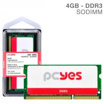 MEMORIA PCYES SODIMM 4GB DDR3 1600MHZ - PM041600D3SO - 1