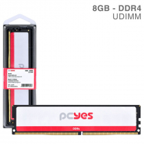 MEMORIA PCYES UDIMM 8GB DDR4 2400MHZ - PM082400D4 - 1