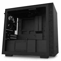 GABINETE MINI-ITX - H210 BLACK - LATERAL COM VIDRO TEMPERADO - CA-H210B-B1 - 1