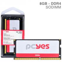 MEMORIA PCYES SODIMM 8GB DDR4 2400MHZ - PM082400D4SO - 1