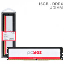 MEMORIA PCYES UDIMM 16GB DDR4 2666MHZ - PM162666D4 - 1