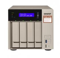 SERVIDOR DE DADOS QNAP NAS TVS-473E-4G-US - QNAP AMD RX-421BD 2.1~3.4 GHZ 4GB DDR4 RAM