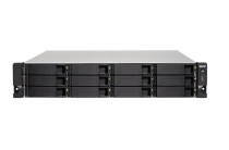SERVIDOR QNAP NAS TS-1263XU-RP-4G-US AMD 4GB DDR3L 12 BAIAS SEM DISCO