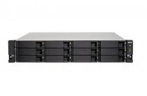 SERVIDOR DE DADOS NAS AMD QUAD-CORE 2.0GHZ - 4GB - 12 BAIAS SEM DISCO - RACK 3U - TS-1263XU-RP-4G-US - 1