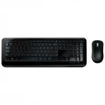 TECLADO E MOUSE SEM FIO DESKTOP 850 USB PRETO - PY900021 - 1