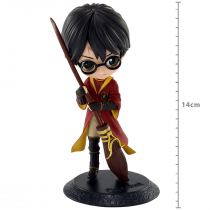 FIGURE HARRY POTTER Q POSKET QUIDDITCH STYLE -A REF: 20305/20306