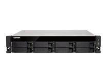 SERVIDOR QNAP NAS QUAND CORE 1.7GHZ 4GB - 8 BAIAS SEM DISCO - TS-832XU-4G-US - 1