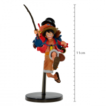 FIGURE ONE PIECE - MONKEY D. LUFFY - THREE BROTHERS REF: 20742/20743 - 1