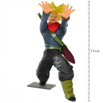 FIGURE DRAGON BALL SUPER - TRUNKS SUPER SAYAJIN - GALICK GUN REF: 20625/20626 - 1