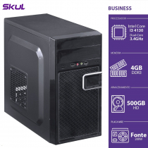 COMPUTADOR BUSINESS B300 - I3-4130 3.4GHZ 4GB DDR3 HD 500GB HDMI/VGA FONTE 200W - B41305004