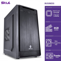 COMPUTADOR BUSINESS B300 - I3-4130 3.4GHZ 8GB DDR3 SEM HD HDMI/VGA FONTE 200W - B41308