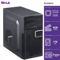 COMPUTADOR BUSINESS B300 - I3-4130 3.4GHZ 8GB DDR3 HD 1TB HDMI/VGA FONTE 200W - B41301T8 - 1