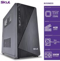 COMPUTADOR BUSINESS B500 - I5 4570 3.2GHZ 4ª GER MEM 4GB DDR3 SEM HD HDMI/VGA FONTE 300W - 1