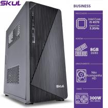 COMPUTADOR BUSINESS B500 - I5 4570 3.2GHZ 4ªGER MEM 8GB DDR3 SEM HD HDMI/VGA FONTE 300W - 1